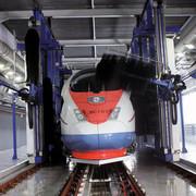Waschanlage, BHB Anlagenbau, Reinigung Schienenfahrzeug